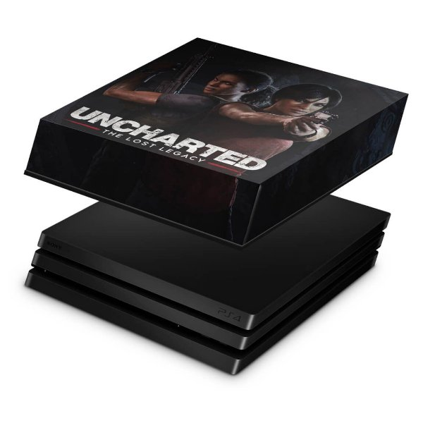 PS4 Pro Capa Anti Poeira - Uncharted Lost Legacy