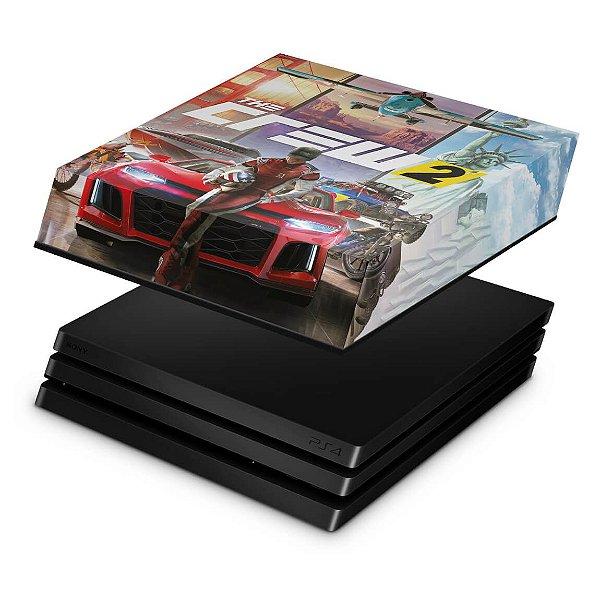 PS4 Pro Capa Anti Poeira - The Crew 2