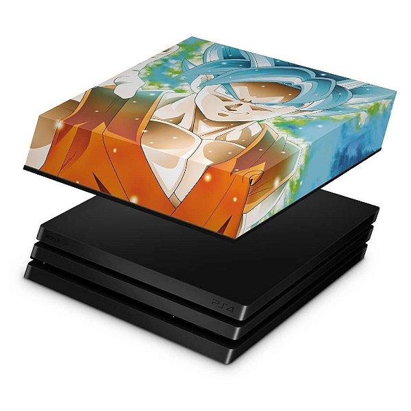 PS4 Pro Capa Anti Poeira - Dragon Ball Super