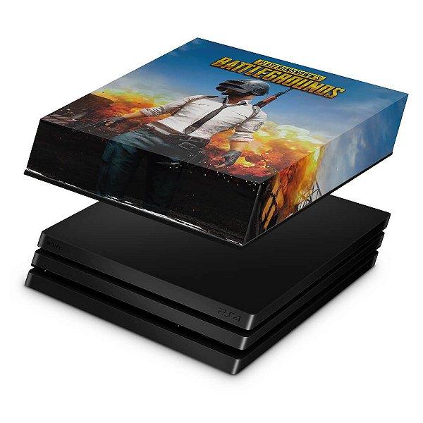 PS4 Pro Capa Anti Poeira - Players Unknown Battlegrounds PUBG