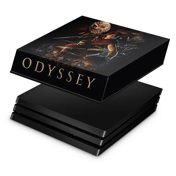 PS4 Pro Capa Anti Poeira - Assassins Creed Odyssey
