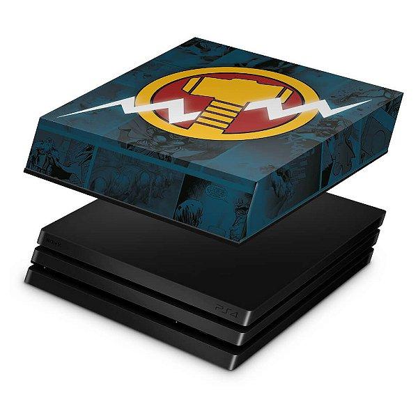 PS4 Pro Capa Anti Poeira - Thor Comics