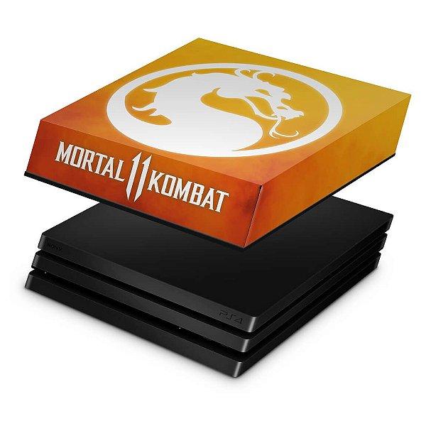 PS4 Pro Capa Anti Poeira - Mortal Kombat 11