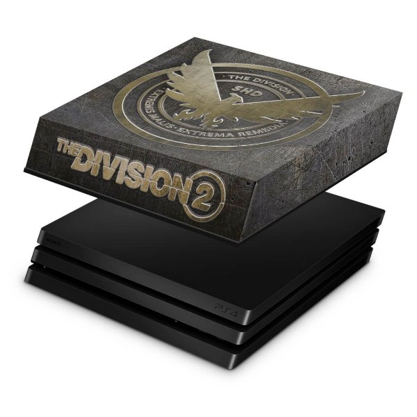 PS4 Pro Capa Anti Poeira - The Division 2