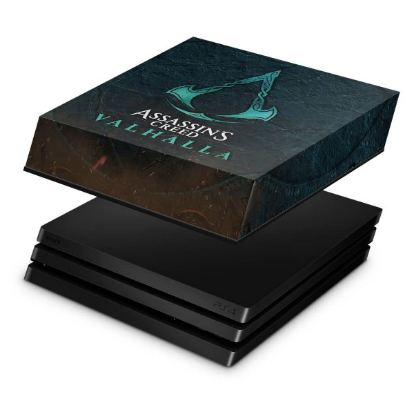 PS4 Pro Capa Anti Poeira - Assassin's Creed Valhalla