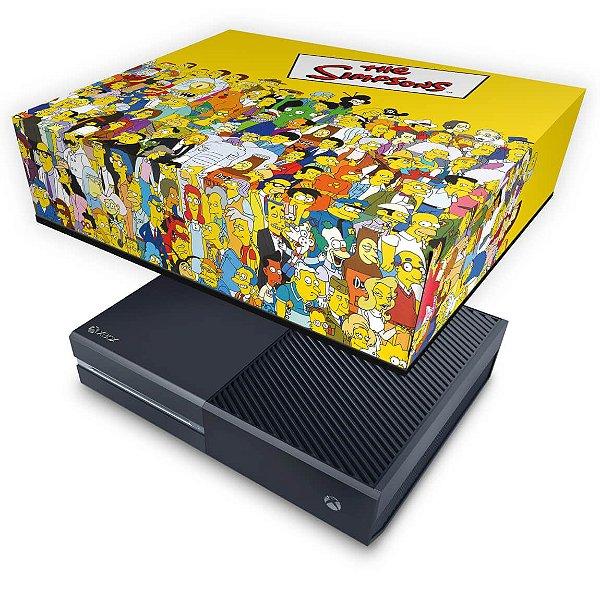 Xbox One Fat Capa Anti Poeira - The Simpsons