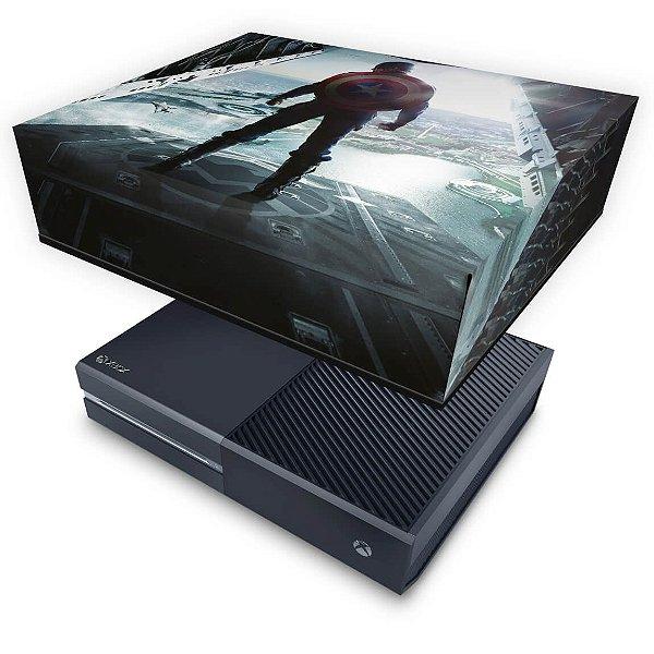 Xbox One Fat Capa Anti Poeira - Capitão America