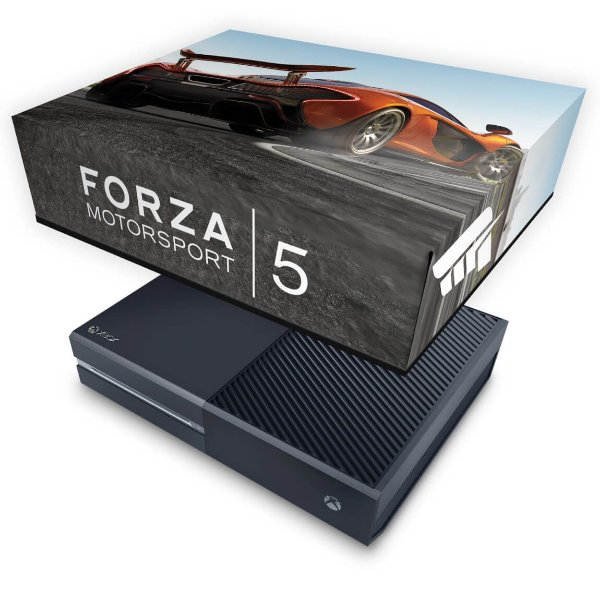Xbox One Fat Capa Anti Poeira - Forza Motor Sport