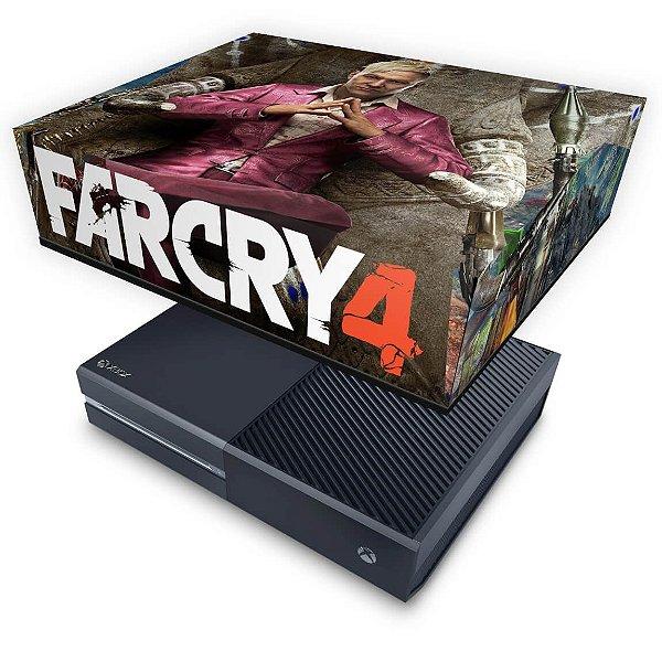 Xbox One Fat Capa Anti Poeira - Far Cry 4