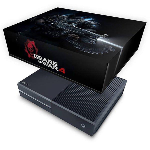 Xbox One Fat Capa Anti Poeira - Gears of War 4