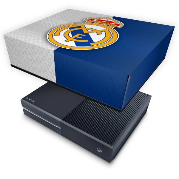 Xbox One Fat Capa Anti Poeira - Real Madrid