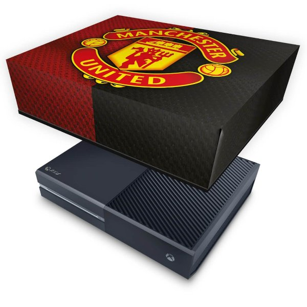 Xbox One Fat Capa Anti Poeira - Manchester United