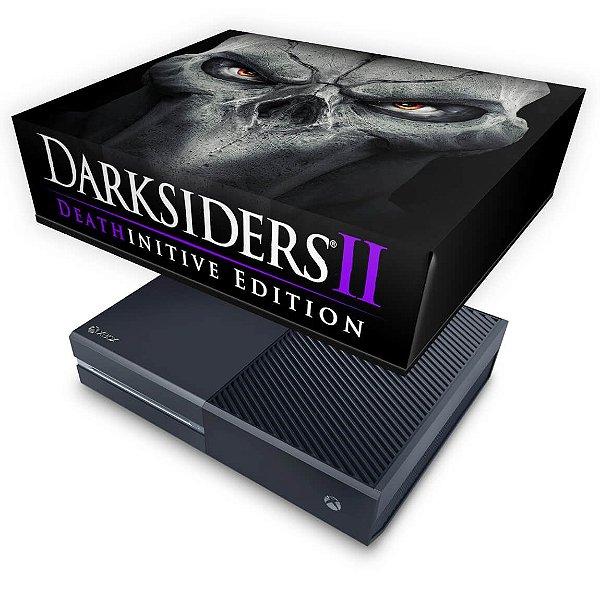 Xbox One Fat Capa Anti Poeira - Darksiders 2 Deathinitive Edition
