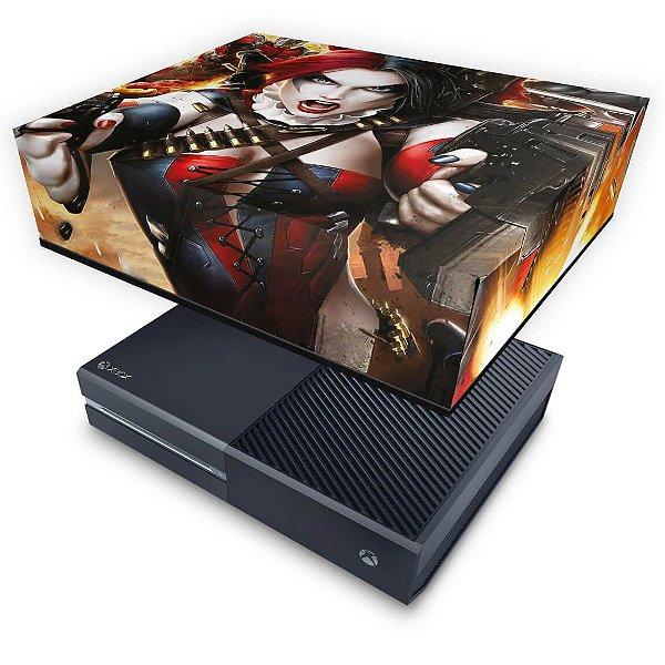 Xbox One Fat Capa Anti Poeira - Arlequina Harley Quinn #B