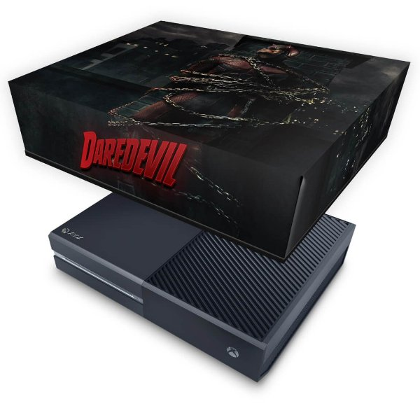 Xbox One Fat Capa Anti Poeira - Daredevil Demolidor