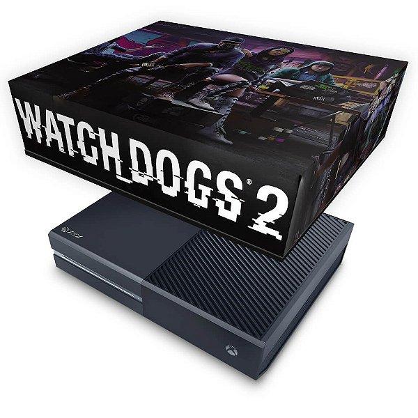 Xbox One Fat Capa Anti Poeira - Watch Dogs 2