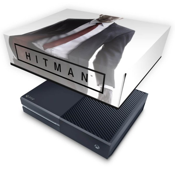 Xbox One Fat Capa Anti Poeira - Hitman 2016