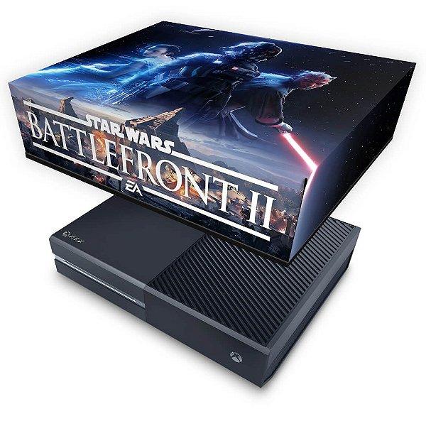 Xbox One Fat Capa Anti Poeira - Star Wars - Battlefront 2