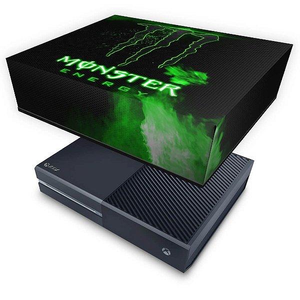 Xbox One Fat Capa Anti Poeira - Monster Energy Drink