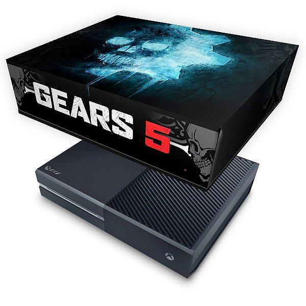 Xbox One Fat Capa Anti Poeira - Gears 5