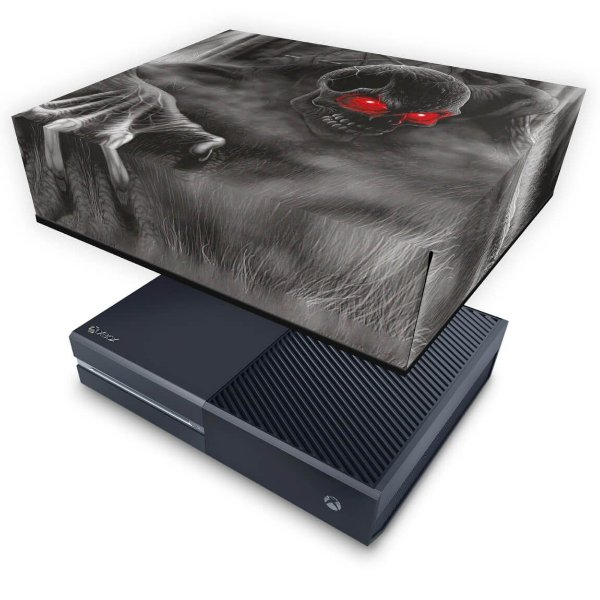 Xbox One Fat Capa Anti Poeira - Caveira Skull