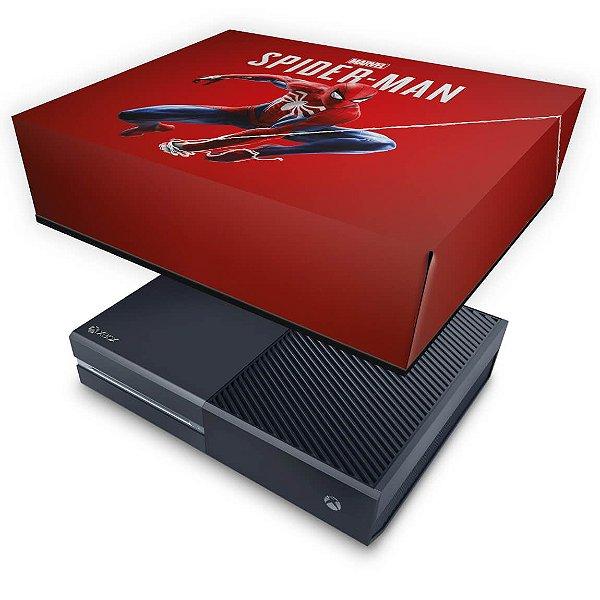 Xbox One Fat Capa Anti Poeira - Homem Aranha Spider-man
