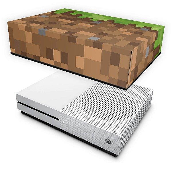 Xbox One Slim Capa Anti Poeira - Minecraft