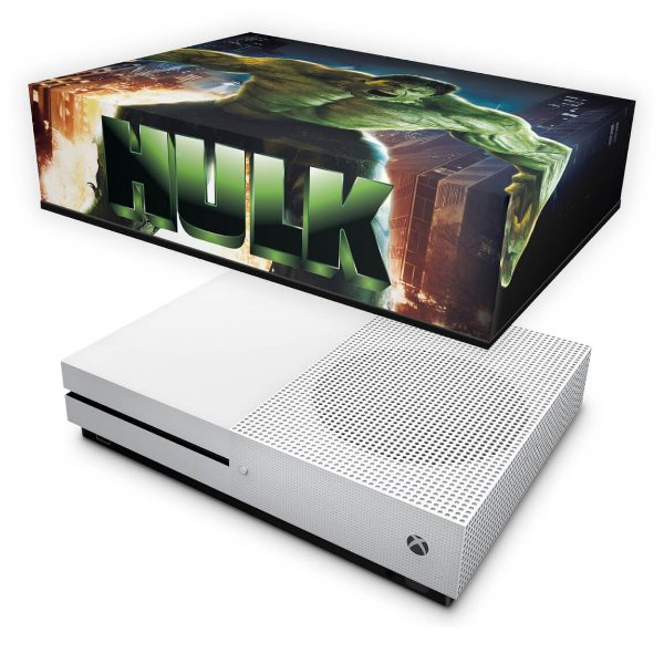 Xbox One Slim Capa Anti Poeira - Hulk