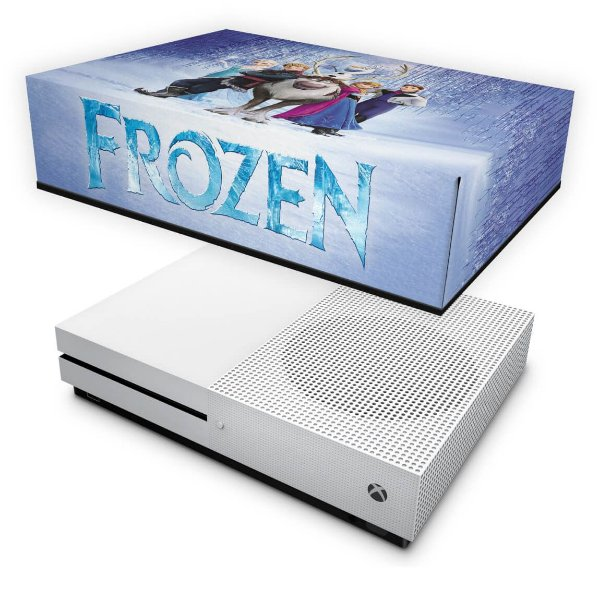 Xbox One Slim Capa Anti Poeira - Frozen