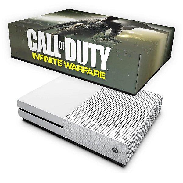 Xbox One Slim Capa Anti Poeira - Call of Duty: Infinite Warfare