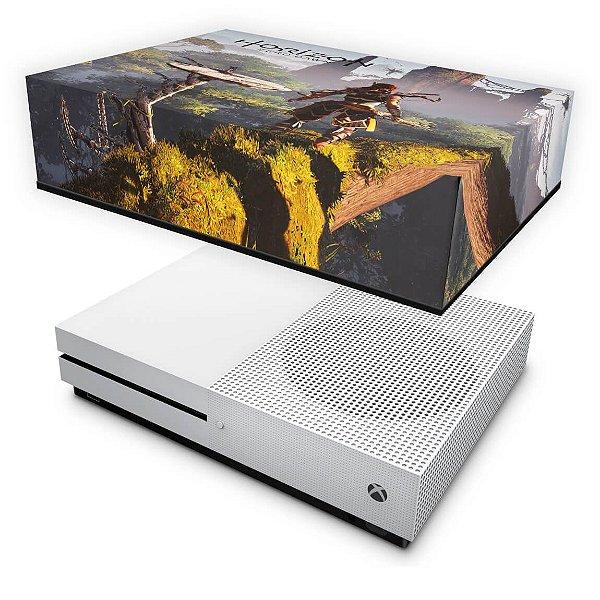 Xbox One Slim Capa Anti Poeira - Horizon Zero Dawn