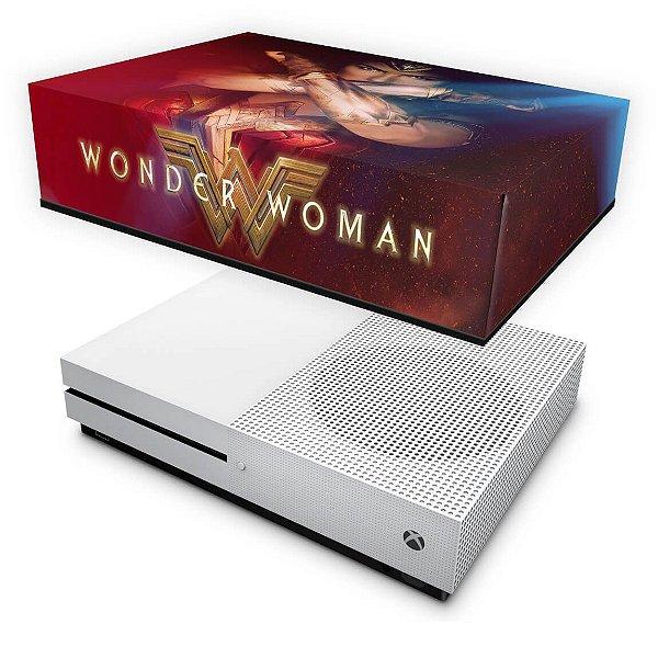 Xbox One Slim Capa Anti Poeira - Mulher Maravilha