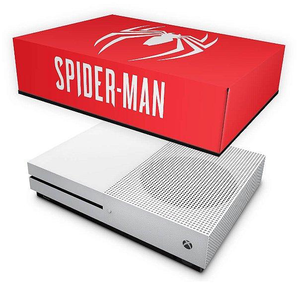 Xbox One Slim Capa Anti Poeira - Spider-man Bundle