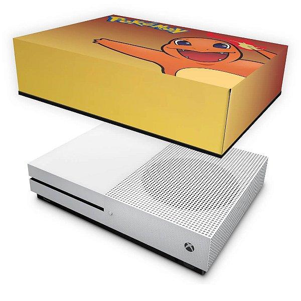Xbox One Slim Capa Anti Poeira - Pokemon Charmander