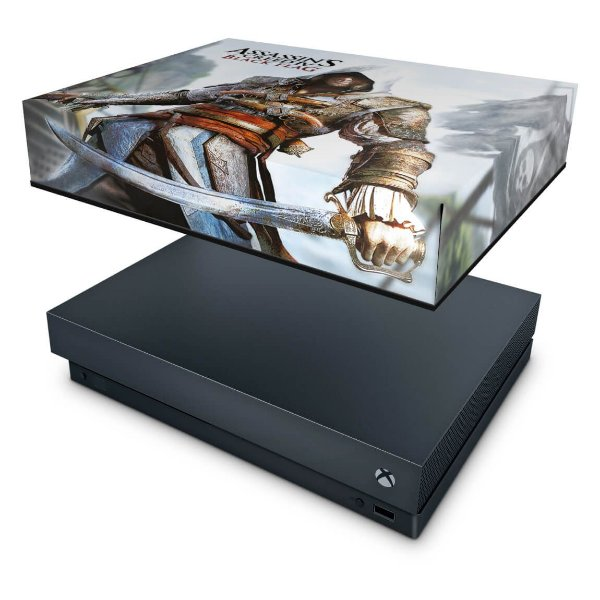Xbox One X Capa Anti Poeira - Assassins Creed Black Flag