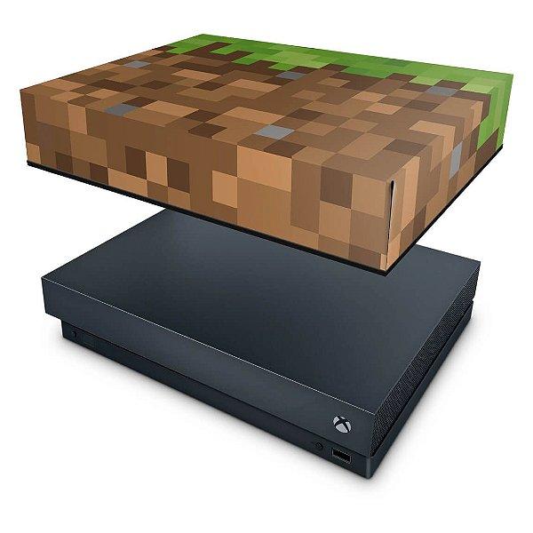 Xbox One X Capa Anti Poeira - Minecraft
