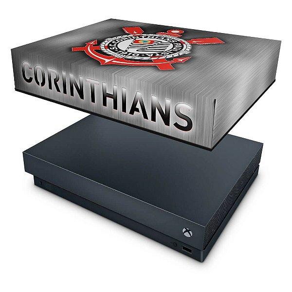 Xbox One X Capa Anti Poeira - Corinthians