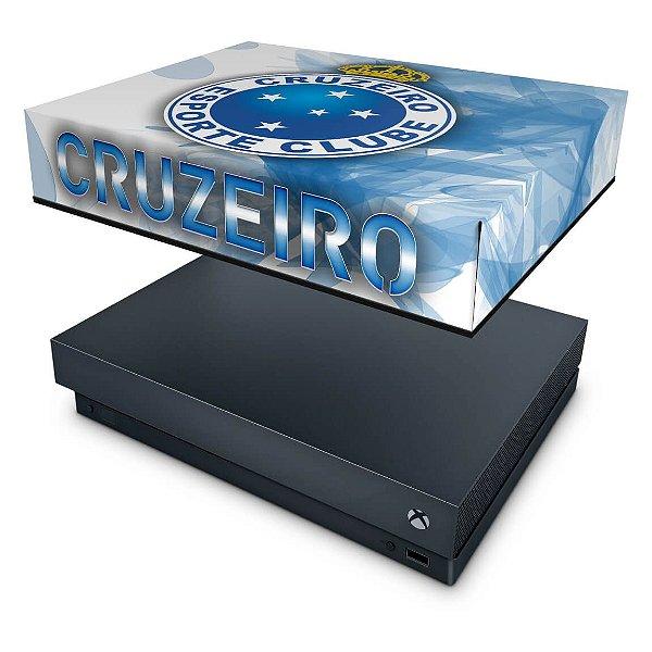 Xbox One X Capa Anti Poeira - Cruzeiro