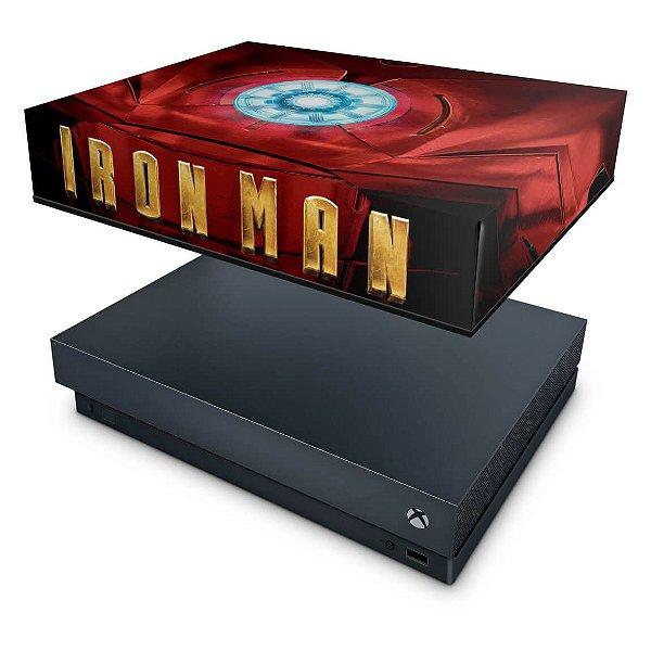 Xbox One X Capa Anti Poeira - Iron Man - Homem de Ferro