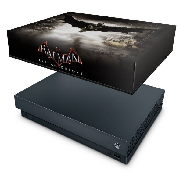 Xbox One X Capa Anti Poeira - Batman Arkham Knight