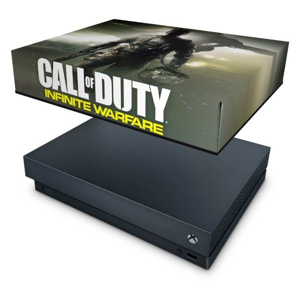 Xbox One X Capa Anti Poeira - Call of Duty: Infinite Warfare