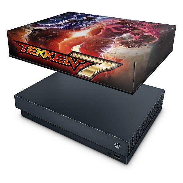 Xbox One X Capa Anti Poeira - Tekken 7