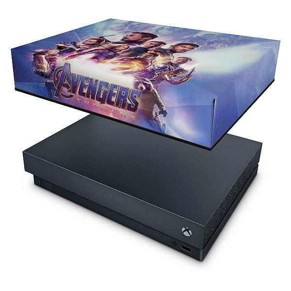 Xbox One X Capa Anti Poeira - Vingadores Ultimato Endgame
