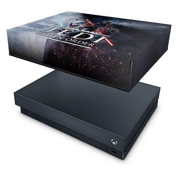 Xbox One X Capa Anti Poeira - Star Wars Jedi Fallen Order