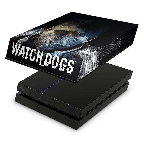 PS4 Fat Capa Anti Poeira - Watch Dogs