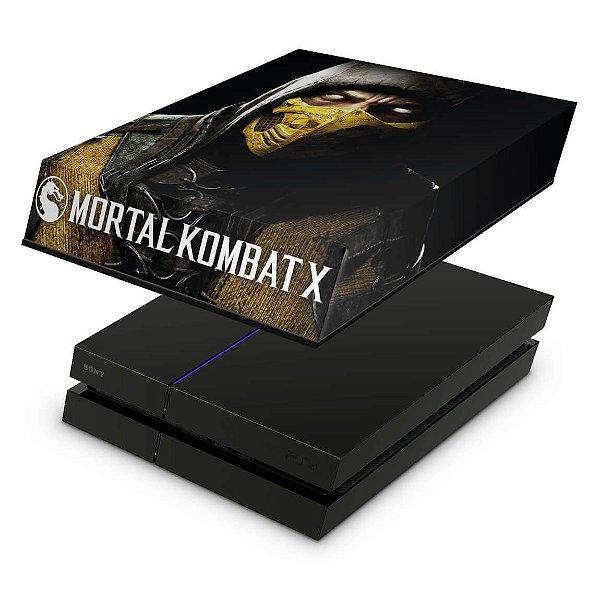 PS4 Fat Capa Anti Poeira - Mortal Kombat X