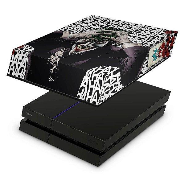 PS4 Fat Capa Anti Poeira - Joker Coringa Batman