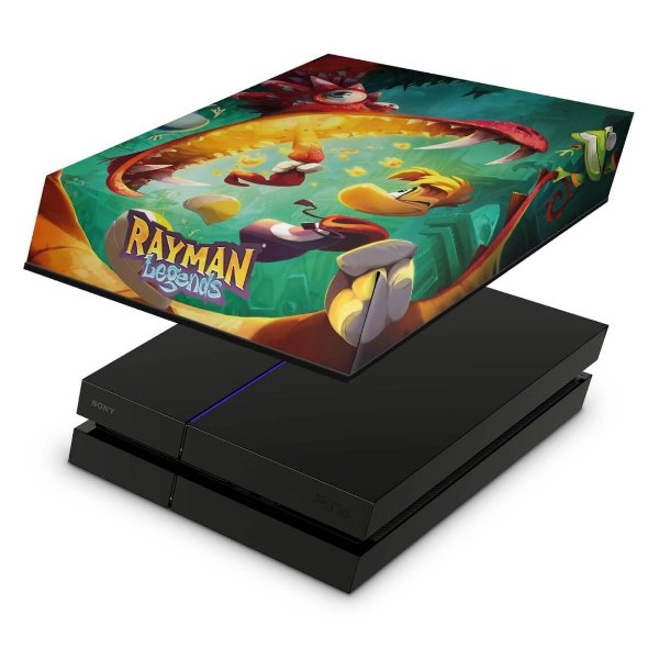 PS4 Fat Capa Anti Poeira - Rayman Legends