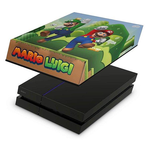PS4 Fat Capa Anti Poeira - Super Mario Bros