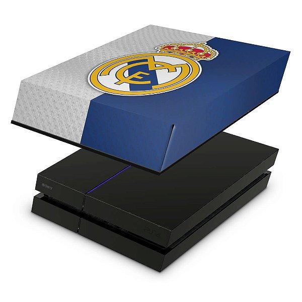 PS4 Fat Capa Anti Poeira - Real Madrid